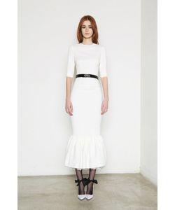 Alessandra Rich | Однотонное Платье