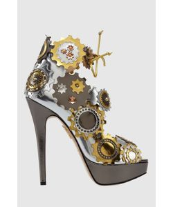Charlotte Olympia   Кожаные Босоножки Spring In Her Step