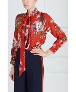 Gucci | Шелковая Блузка