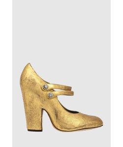 Marc Jacobs | Туфли Из Металлизированной Кожи