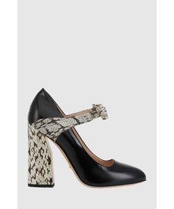 Gucci | Туфли Из Лакированной Кожи И Кожи Змеи