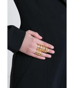 Pamela Love   Кольцо Из Латуни С Золотым Напылением