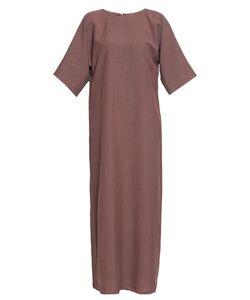 Cyrille Gassiline | Платье Из Хлопка И Льна 188620