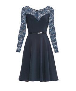 Stella Di Mare | Платье Из Вискозы С Ремнем 175357