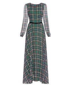 Stella Di Mare | Платье Из Вискозы С Ремнем 175367