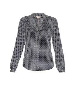 Michael Michael Kors | Блуза Из Искусственного Шелка С Цепочкой 177493