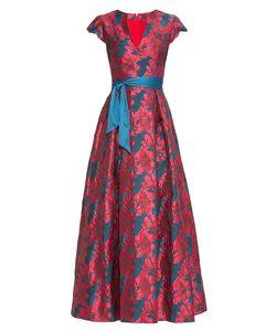 Stella Di Mare | Платье Из Вискозы С Поясом 177475