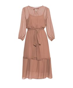 Imago | Платье Из Вискозы С Сорочкой И Поясом 178333