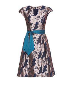 Stella Di Mare   Платье Из Вискозы С Поясом 177478