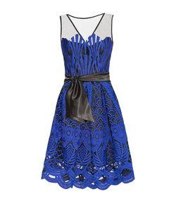 Stella Di Mare | Платье Из Вискозы С Поясом 174313