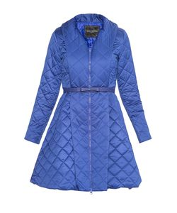 Paola Morena | Утепленное Пальто С Ремнем 177609