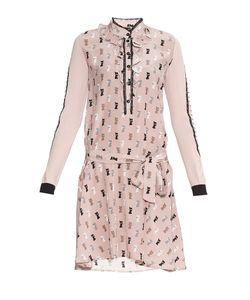 Tricot Chic | Платье Из Шелка И Кашемира С Сорочкой 178472