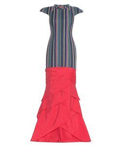 Apollon Bygakoff | Платье Из Шелка И Хлопка 179127