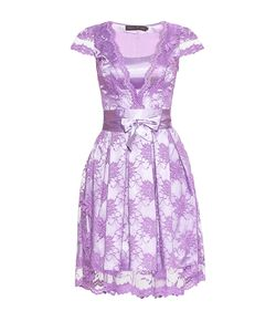 Stella Di Mare | Кружевное Платье С Поясом 180980