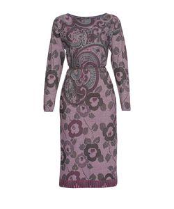 Etro | Платье Из Шерсти С Поясом Nd-181361