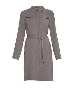 BURLO   Платье Из Вискозы С Поясом Br-181742