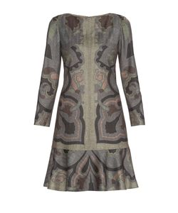 Etro | Платье Из Шерсти С Вискозой Nd-182512