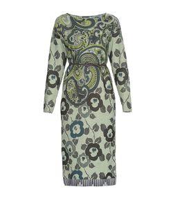 Etro | Трикотажное Шерстяное Платье С Поясом Nd-182506