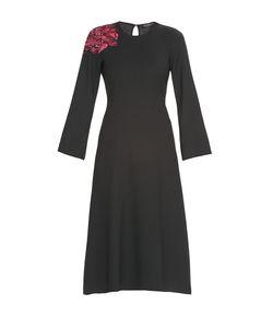 Etro | Платье Из Вискозы И Шерсти С Пайетками Nd-182533