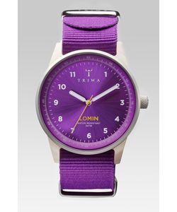 Triwa | Часы+Запасной Ремешок Purple Lomin