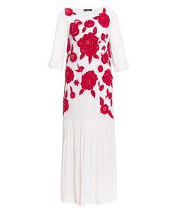 Twin-set | Платье Из Вискозы С Вышивкой И Пайетками С Сорочкой Sf-184882