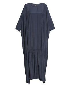 Cyrille Gassiline | Объемное Платье Из Искусственного Шелка С Ассиметричным Подолом 188062