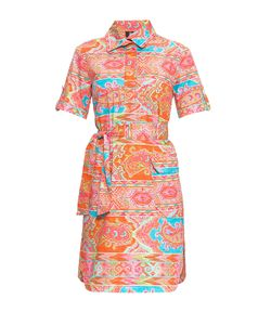 Bogner Woman | Платье Из Хлопка С Поясом 169952