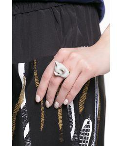 Nach Jewellery | Кольцо Из Фарфора 126639