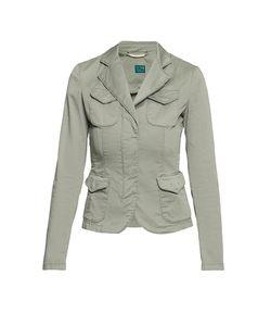 Trussardi Jeans | Жакет Из Хлопка С Аксессуаром Be-185652