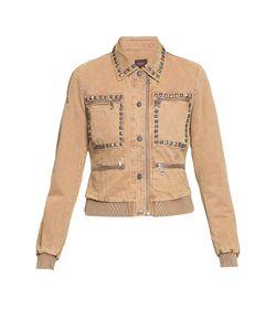Von Dutch   Куртка Из Хлопка Декорированная Клепками Be-185461