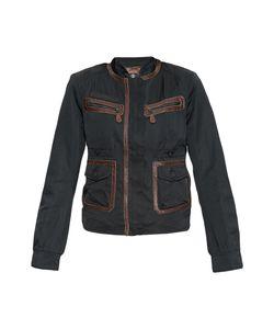 SONIA BOGNER | Куртка С Кожаной Отделкой 170603