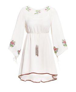 Twin-set | Платье Из Вискозы С Вышивкой И Сорочка Sf-184893