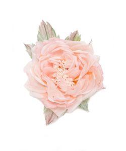 Shams | Брошь 151201-18-Pink-Silk
