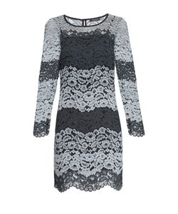 Twin-set   Кружевное Платье С Сорочкой At-162715