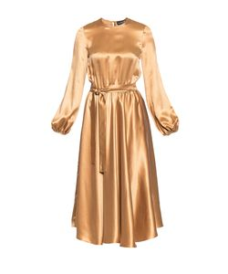 BYGAKOFF   Платье Из Шелка С Поясом 188532