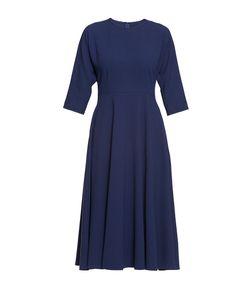 Cyrille Gassiline | Элегантное Платье Из Искусственного Шелка С Юбкой Солнце