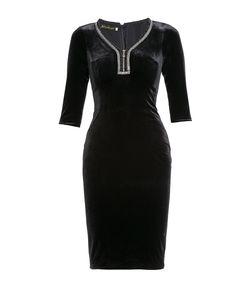 BYGAKOFF   Платье Из Вискозы И Искусственного Шелка Со Стразами И Бисером