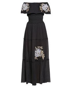 Cristinaeffe | Cristina Effe Платье Из Хлопка С Вышивкой 186259