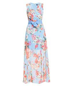 Stella Di Mare | Платье Из Вискозы С Поясом 185942