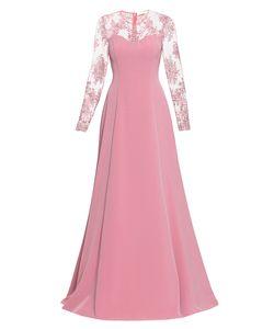 BYGAKOFF | Платье Из Вискозы С Кружевом И Бисером 186825