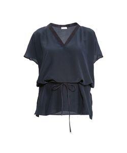 Les Tendances | Блуза Из Шелка С Поясом 149511