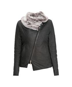 10Sei0Otto | Утепленная Кожаная Куртка 1603pr