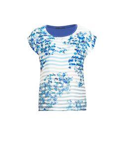 Les Copains Blue | Блуза С Шелковой Вставкой 143390
