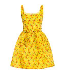 Villa Turgenev | Платье Из Шелка С Поясом 170703