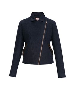 Rib Atelier | Куртка Из Шерсти С Отделкой Из Меха Каракульчи 171318