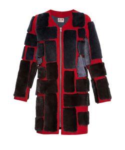 Rib Atelier | Пальто Из Шерсти С Отделкой Из Меха Енота 171316