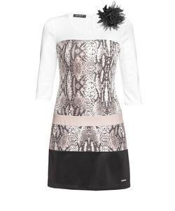 Rinascimento | Платье Из Искусственного Шелка С Брошью Be-187462