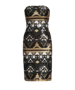 Tatiana Zhereb | Платье Из Вискозы В Пайетках 172430