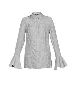 Pallari   Шелковая Блуза С Кружевными Вставками Pa-191441