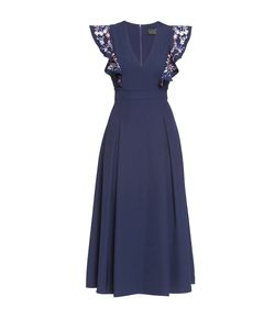 Cavo | Платье Из Вискозы И Искусственного Шелка С Вышивкой 186066